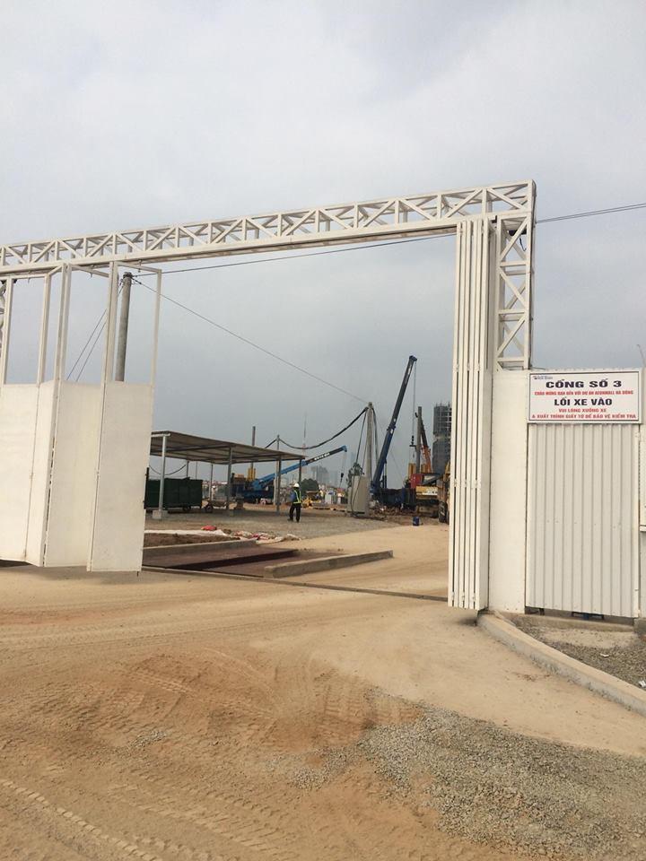 Tiến độ xây dựng AEON Mall Hà Đông tháng 4/2018