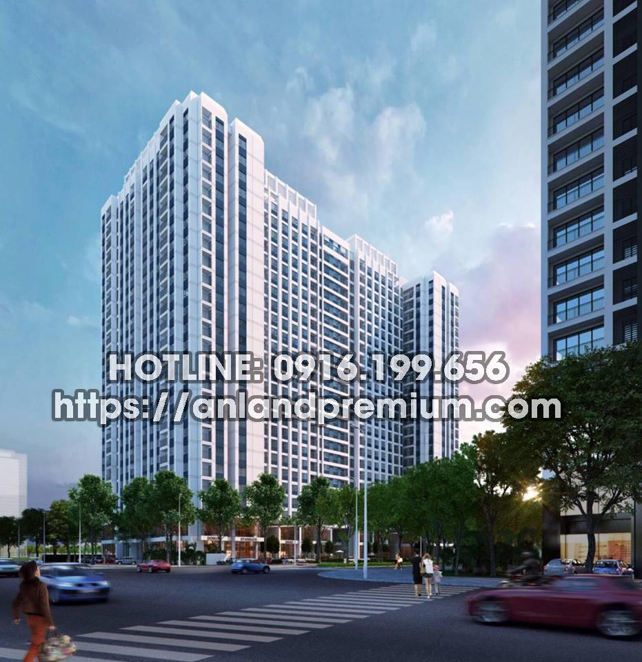 Chung cư Anland Premium tọa lạc tại khu đô thị Dương Nội