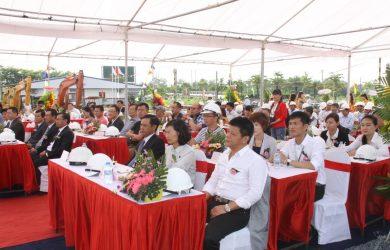Lễ khởi công chung cư Anland Nam Cường