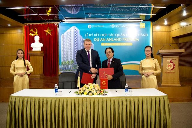 Tập đoàn Nam Cường và Savills ký hợp tác vận hành tòa nhà Anland Premium
