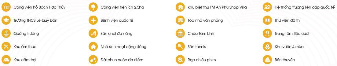 Tiện ích khu đô thị Dương Nội - Anland Residences CT06 Premium